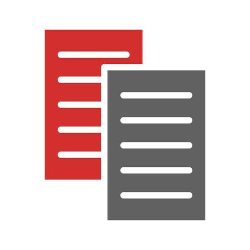 Bestanden Icon Design vector