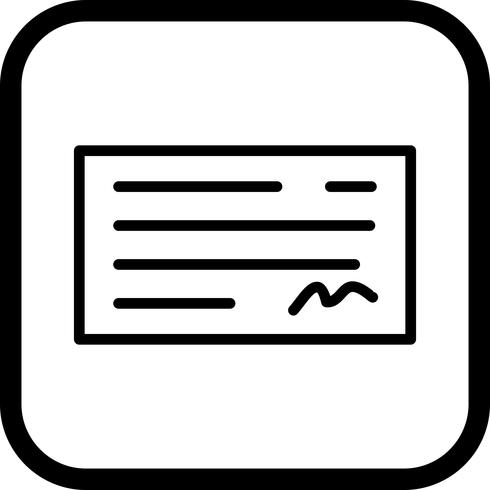 Kontrollera ikondesign