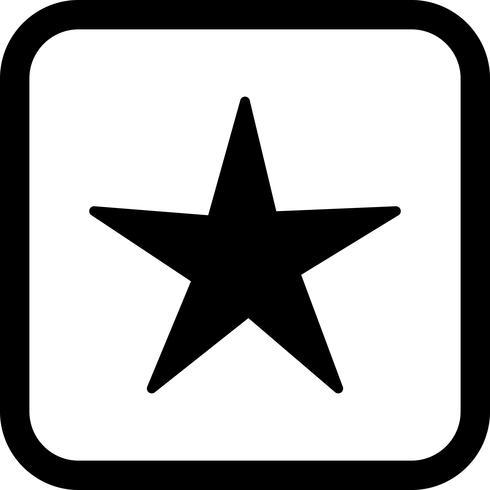 disegno dell'icona della stella
