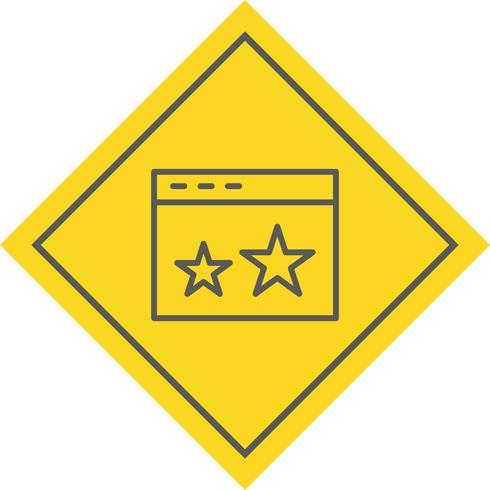 Markiertes Icon Design vektor