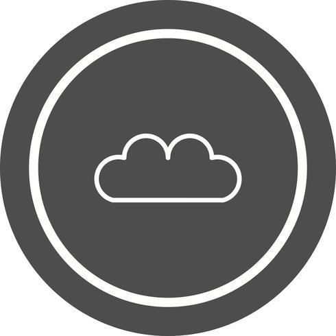 Conception d'icône de nuage