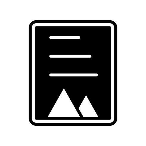document pictogram ontwerp vector