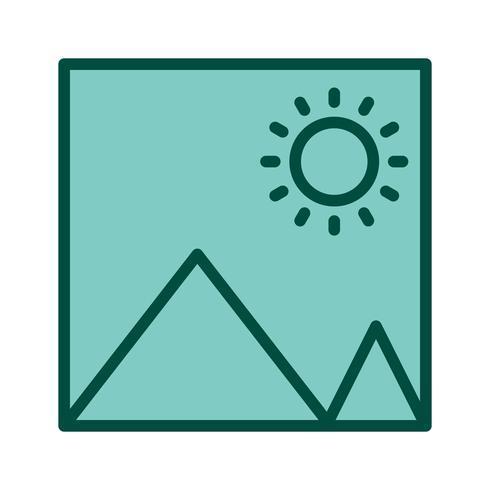 Diseño de icono de imagen