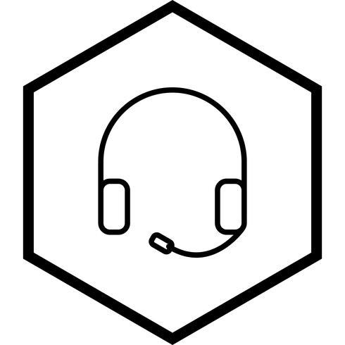 Casque Icône Design