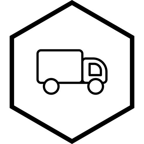 LKW-Icon-Design vektor