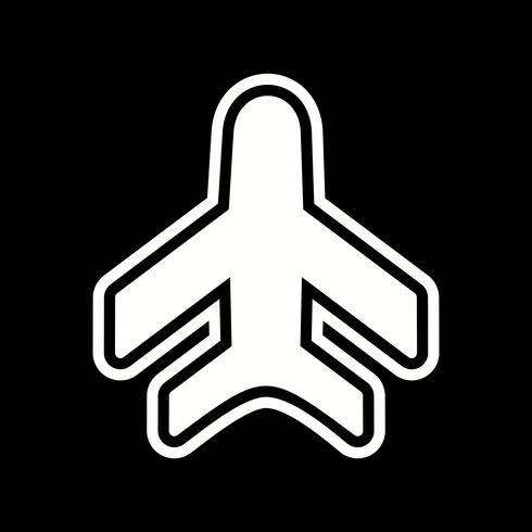 Flugzeug-Icon-Design