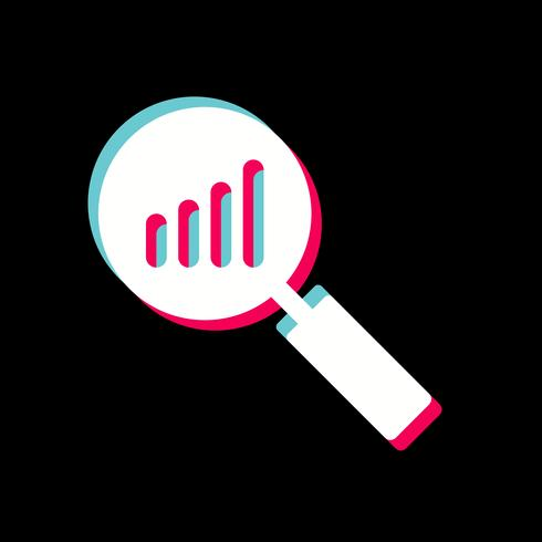 analyse pictogram ontwerp vector