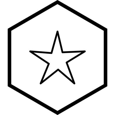 ster pictogram ontwerp
