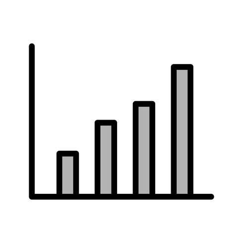 Disegno dell'icona di statistiche