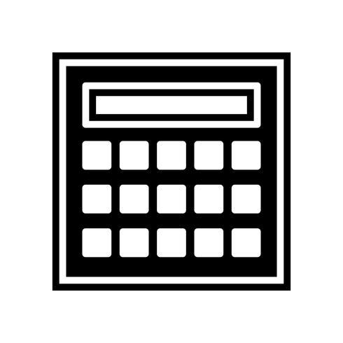 Conception d'icônes de calcul vecteur