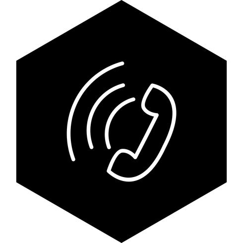 Aktiver Anruf-Icon-Design