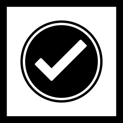 Disegno dell'icona valido