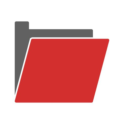 Diseño de icono de carpeta