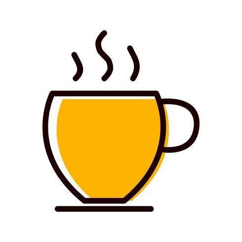 Disegno dell'icona del tè