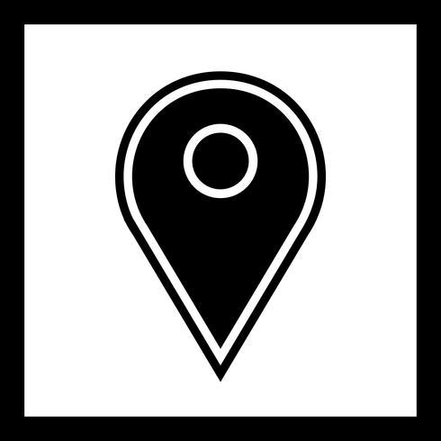 Locatie Icon Design vector