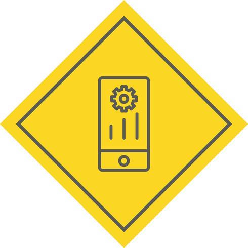 Design de ícone de marketing móvel