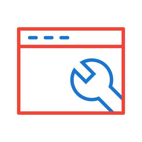 Impostazioni del browser Disegno dell'icona