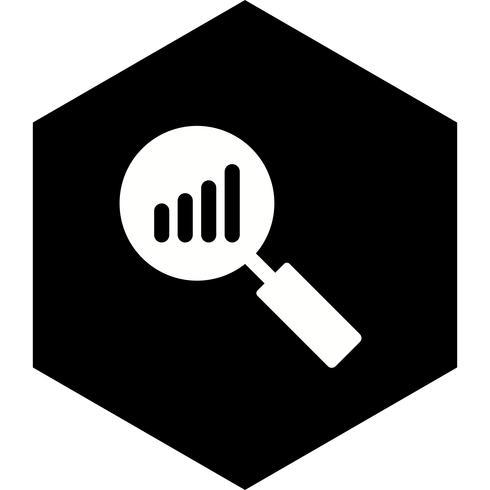 Analysis Icon Design vector