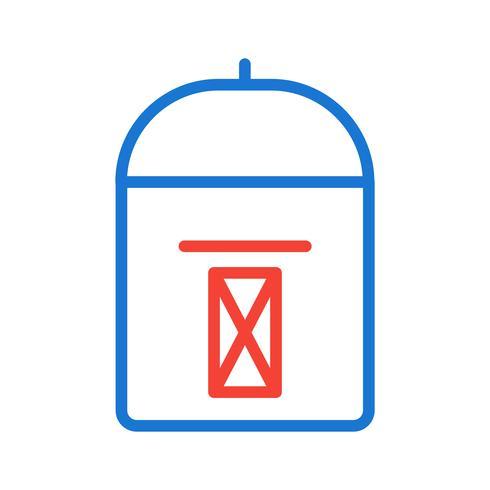 conception d'icône de boîte aux lettres