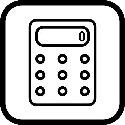 Conception icône calculatrice
