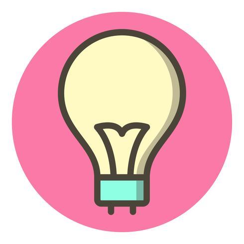 Ampoule Icône Design