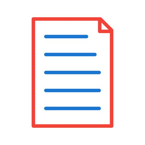 Diseño de icono de documento
