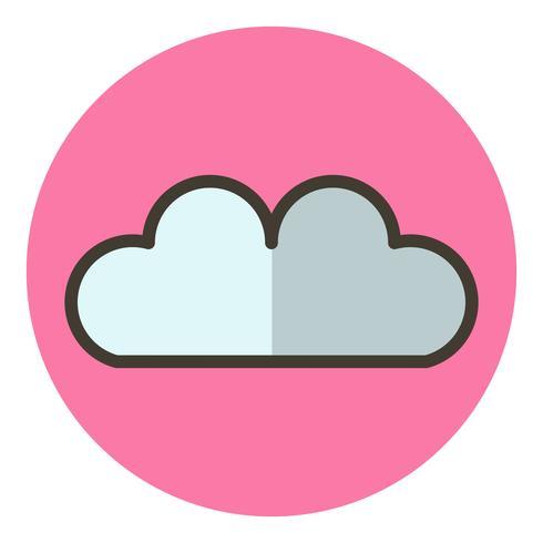 disegno dell'icona della nube