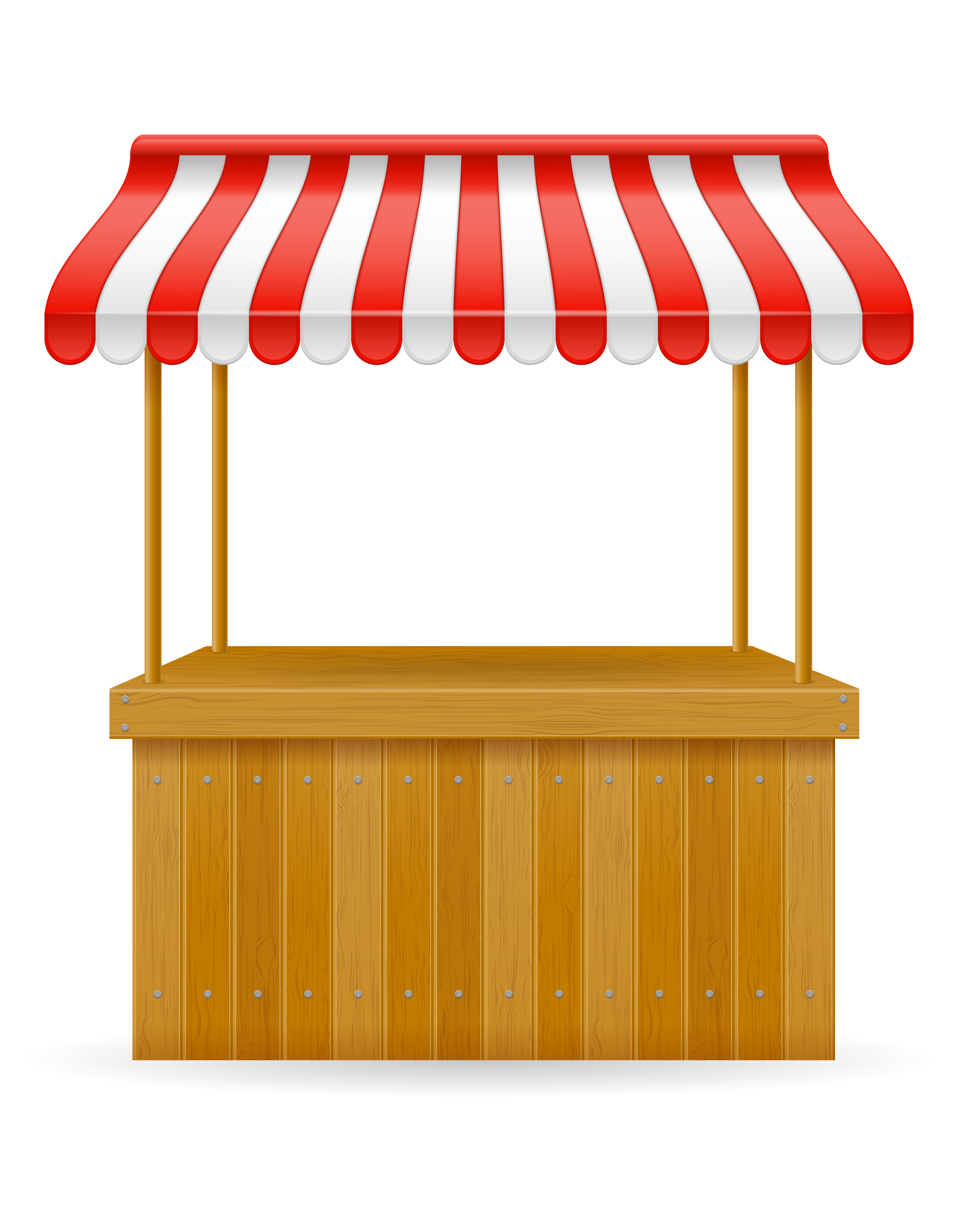 street food stall vector illustration - Download Free ...