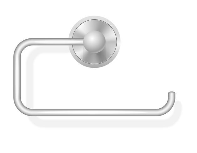 illustration vectorielle de porte papier toilette