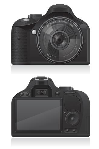 illustration vectorielle de photo caméra