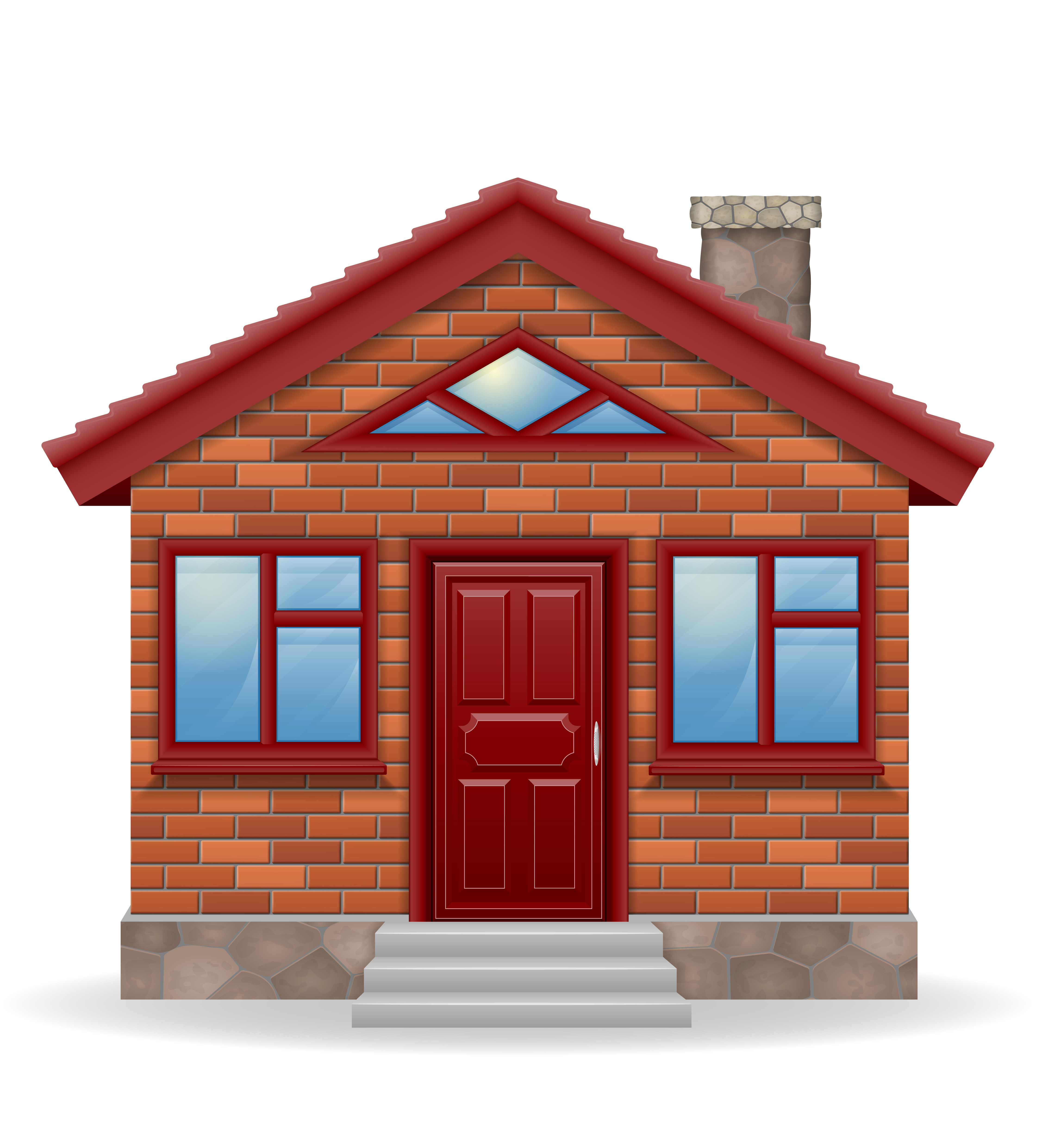 small country house vector illustration - Download Free ...