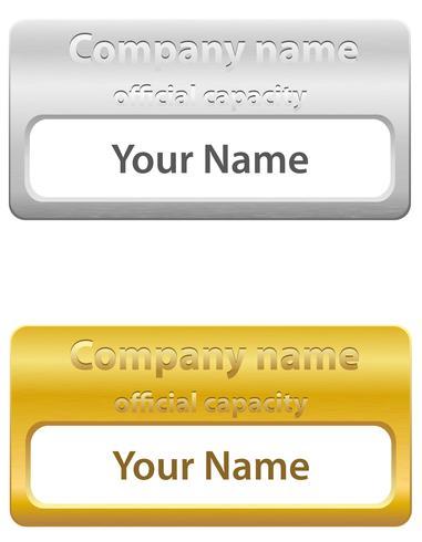 identification card vector illustration