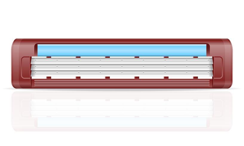 hoja de ilustración de vector stock razer