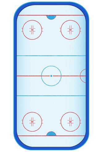 Hockey-Stadion-Vektor-Illustration