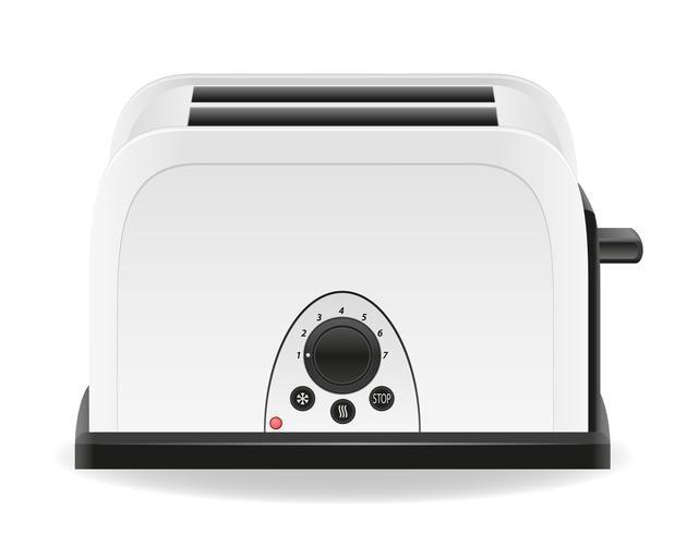 ilustración de vector de tostadora