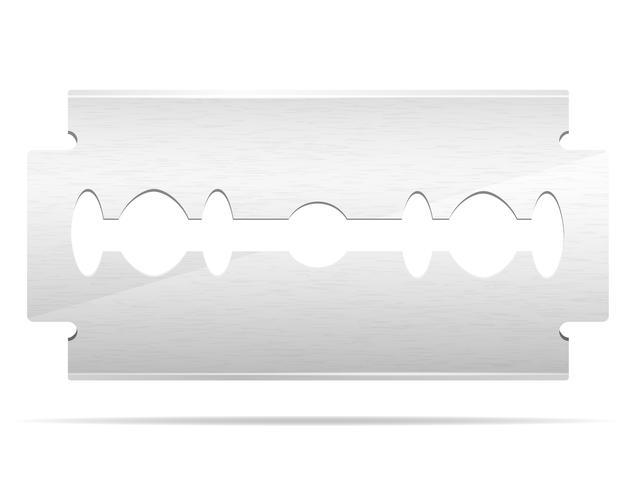 Klinge für Razer Stock Vektor-Illustration