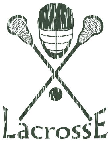 lacrosse sport concept vector illustration