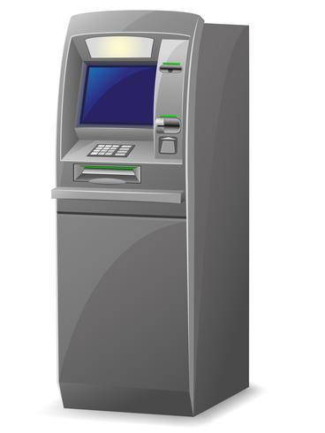 ATM-vectorillustratie vector
