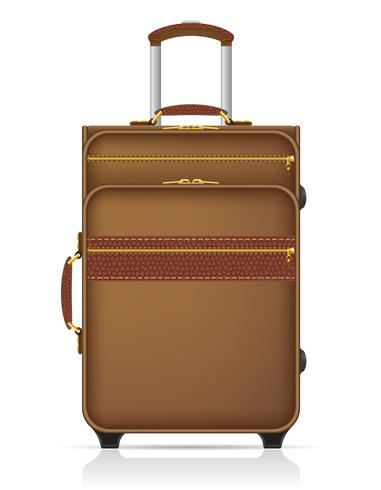 mala para ilustração vetorial de viagens
