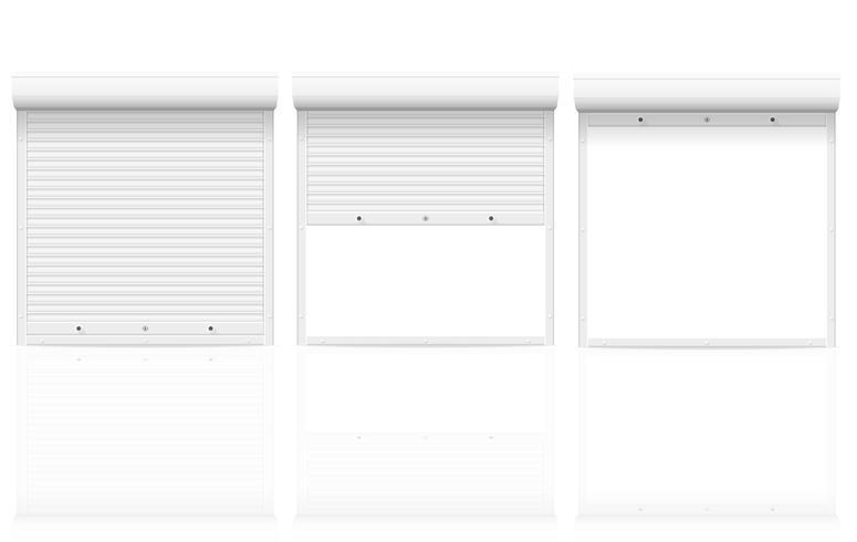 volets roulants illustration vectorielle