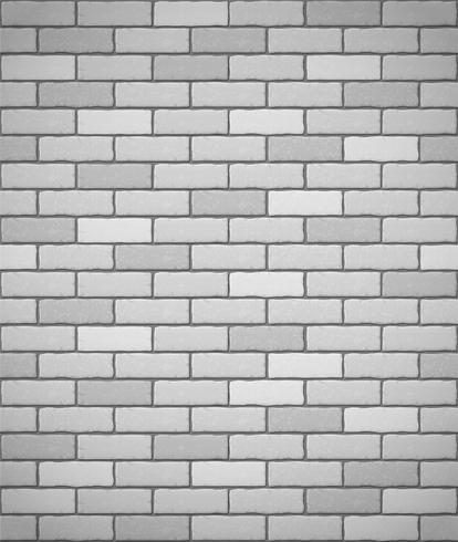 Wand aus weißem Ziegelstein nahtlose Hintergrund
