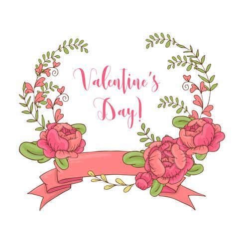 Conjunto gráfico de boda, flechas, corazones, laurel, coronas, cintas y etiquetas. vector