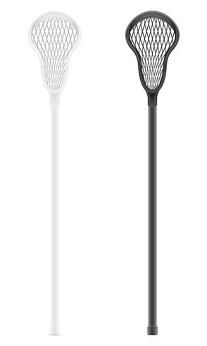 Lacrosse-Stick-Vektor-Illustration