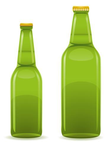 Ilustración de vector de botella de cerveza