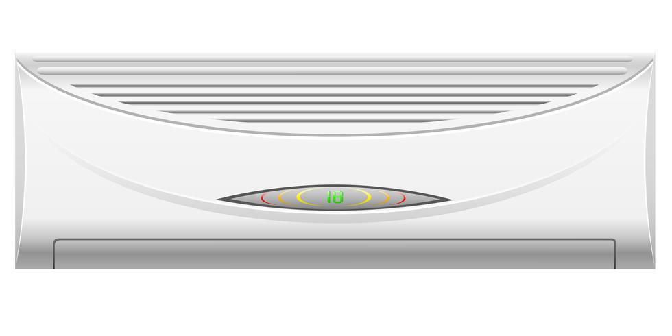 illustration vectorielle de climatisation vecteur