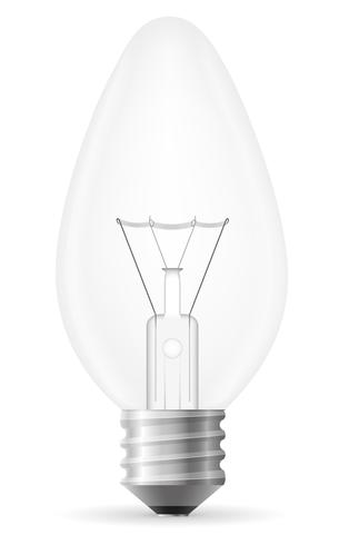 glödlampa vektor illustration