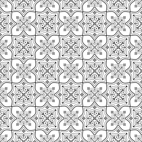 Seamless Pattern - ornamental wallpaper