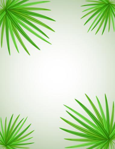 palmtak vectorillustratie