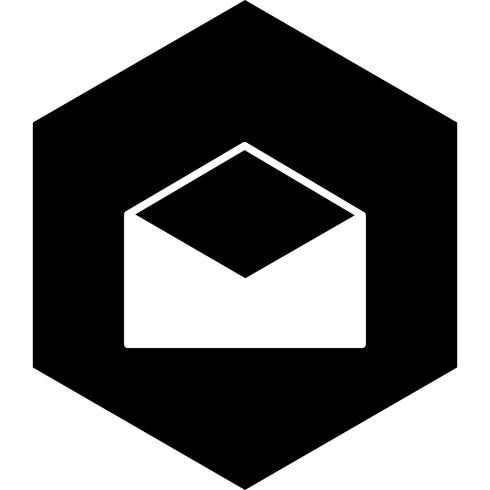 Diseño de icono de sobre vector