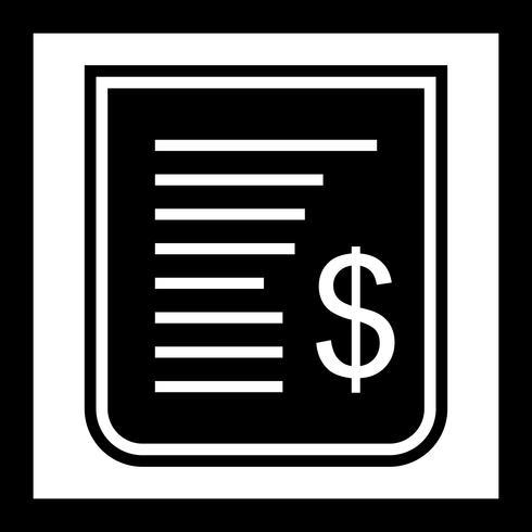 Beleg-Icon-Design